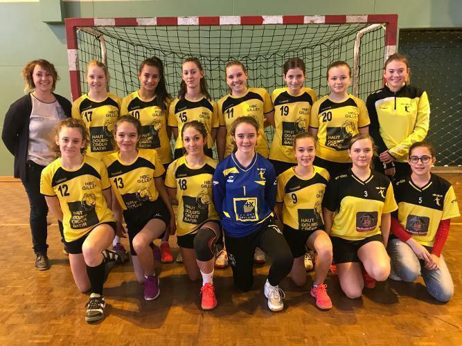 Equipe U15 Filles - Entente Reg.
