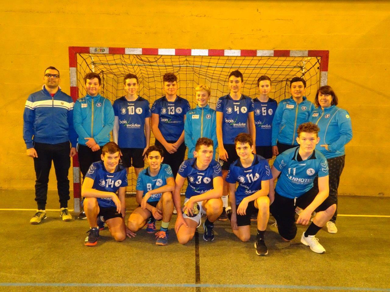 Equipe U15 Garçons