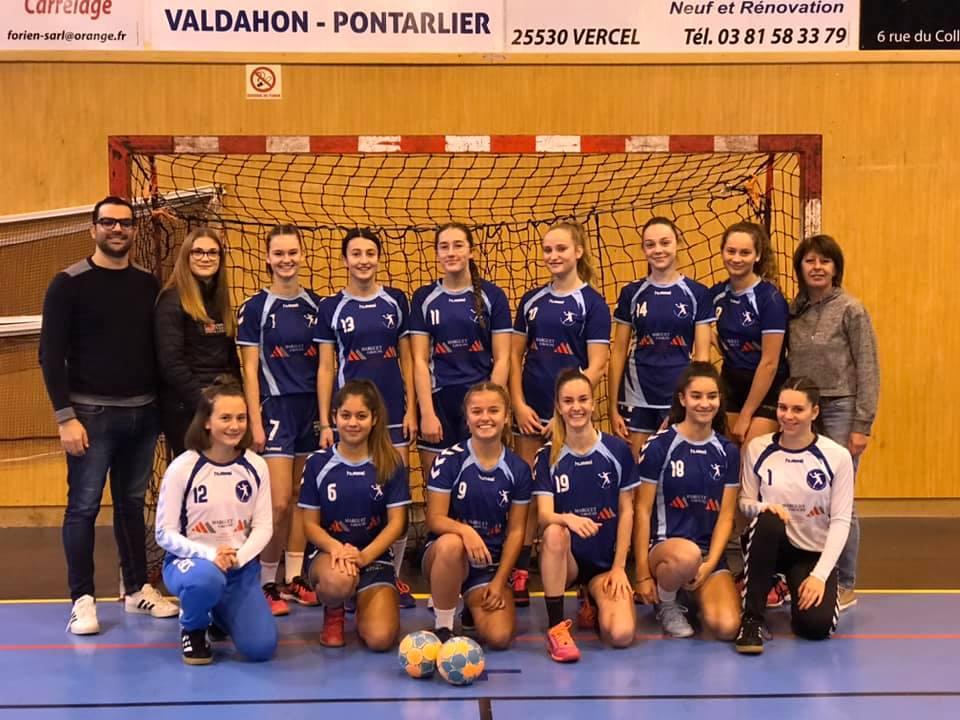Equipe U18 Filles - Entente Reg.